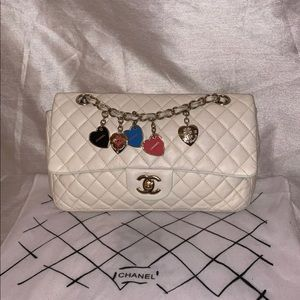 Authentic CHANEL Limited Edition Valentines Charms